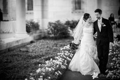 Boston Public Library Wedding - Boston, MA : Zev Fisher Photography - #JustMarried! #BrideandGroom #BostonWeddingPhotography #BostonWeddingPhotographers #BostonWeddings #BlackandWhiteWeddingPhotography