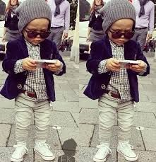Fashion Kids Fashion and design for kids by Benito Cormier-Allen Lutak So Cute Baby, Cool Baby, Baby Kind, Cute Kids, Cute Babies, For Kids, Little Boy Outfits, Little Boy Fashion, Baby Boy Fashion