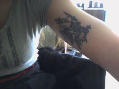 Someone actually got it tattooed! A bit intricate for me, but still cool!
