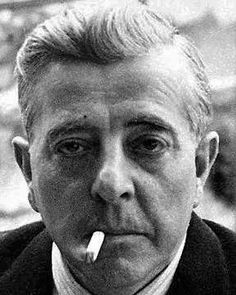 Jacques Prevert, famous for his poetry (and screenplays, including LE JOUR SE LEVE and CHILDREN OF PARADISE)