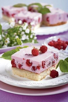Slovak Recipes, Hungarian Recipes, Easy Desserts, Dessert Recipes, Hungarian Cake, Puff Pastry Desserts, Cheesecake, Food And Drink, Sweets