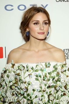 The Olivia Palermo Lookbook.Olivia Palermo At The Ninth Annual Delete Blood Cancer Gala In New York Wearing Marchesa.