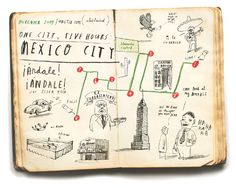 Oliver Jeffers - Mexico City