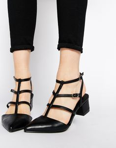 Image 1 of ASOS SCHEME Pointed Heels