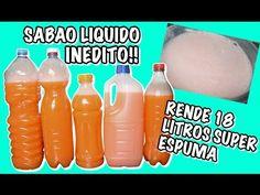 SABAO LIQUIDO RENDE 18 LITROS SUPER ECONOMICO E ESPUMA MUITO INEDITO - YouTube