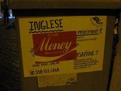 """""""Enjoy Money"""" - Street Art"""
