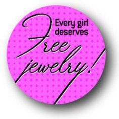 Every girl deserves FREE Jewelry! If you enjoyed the fashion show, contact for your Free Jewelry!