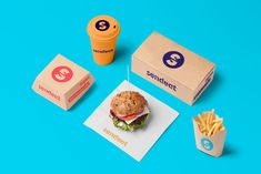 SendEAT Food Delivery Identity Shows the Journey Your Food takes to Arrive — The Dieline | Packaging & Branding Design & Innovation News