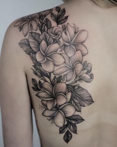 Sacuanjoche Flower Tattoo