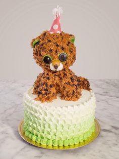 Beanie boo cake speckles