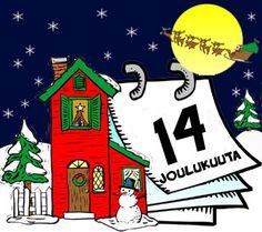 Goodies Lapsille: Puuhaa lapsille, vinkkejä ja ideoita vanhemmille ja paljon muuta Goodies, Advent Calendar, Christmas Ornaments, Holiday Decor, Education, Sweet Like Candy, Gummi Candy, Advent Calenders, Christmas Jewelry