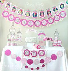 Beautiful Damask Party theme