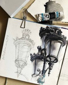 Comment Your Favorite ❤️ ⠀ 🎨 Water Акварель - Drawing Watercolor Drawing, Watercolor Illustration, Watercolor Paintings, Forest Illustration, Drawing Art, Oil Paintings, Drawing Ideas, Art Drawings Sketches, Art Sketchbook