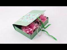 (4) Как сделать подарочную коробку из картона своими руками - YouTube