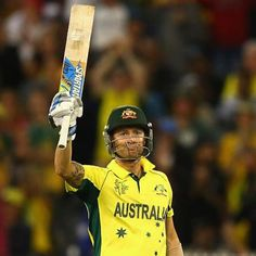 WORLD CHAMPIONS! Congratulations to @michaelclarkeofficial for leading Australia to a win in the #cwc15 final! An inspirational leader and a great effort from the boys today and throughout the tournament! #MichaelClarke #AUSvNZ #champions