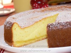 Pasca cu smantana Romanian Desserts, Romanian Food, Pastry And Bakery, Pastry Cake, No Cook Desserts, Dessert Recipes, Easter Recipes, Sweet Bread, Dessert Bars