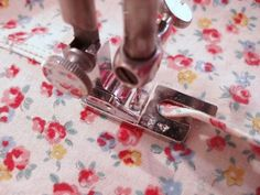 sewing machine tutorials including using funky feet that come with your machine