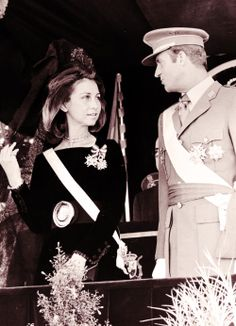 princessletizia:  Queen Sofia and King Juan Carlos