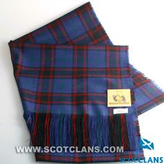 Clan Home / Hume Tartan Stole