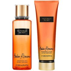 Victoria'S Secret Victoria Secrets Amber Romance Pack ($44) ❤ liked on Polyvore featuring beauty products