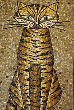 Mosiac Cat