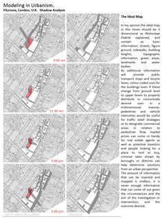 WEEK 6: Modelling in Urbanism Shadow Analysis / The Ideal Map