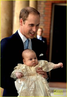 Kate Middleton & Prince William: Prince George's Christening