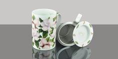 Mug Cylinder Magnolia Colección Mugs #teashop