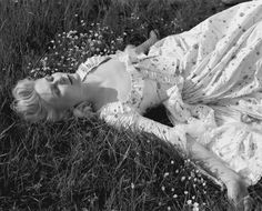 Kirsten Dunst during the filming of Marie Antoinette photographed by Brigitte Lacombe