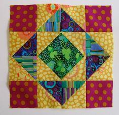 Blogger's Block of the Month :: Block 8, April « Mrs. Schmenkman Quilts