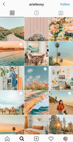Best Instagram Feeds, Instagram Feed Tips, Instagram Feed Layout, Foto Instagram, Instagram Story Ideas, Summer Feed Instagram, Instagram Theme Ideas Color Schemes, Ig Feed Ideas, Aesthetic Themes