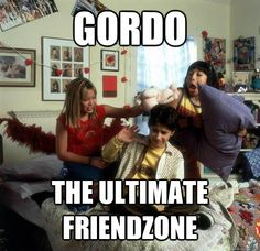 There is no other friendzone than that of the Gordo friendzone. (which however finally molds into a romance at the conclusion of the Lizzie McGuire movie)