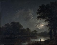 James Arthur O'Connor - Moonlight Scene