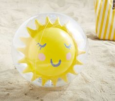 Get ready to have a ball with this cool inflatable, perfect for the beach, pool or a trip to the park. This one also has a special surprise: inflate it to discover a sun inside! Baby Shower Gifts, Baby Gifts, Swimsuits For Tweens, Beach Supplies, Rainbow Beach, Beach Ball, Designer Friends, Pool Accessories, Beach Toys