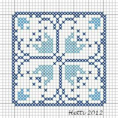 Creative Workshops from Hetti: SAL Delfts Blauwe Tegels, Deel 12 - SAL Delft Blue Tiles, Part 12.