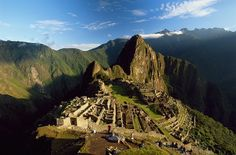 Machu Picchu - Peru - And I am going to climb the side of the mountain to see it.