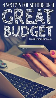 It's important to remember, though, that you need to consider the big picture, and that means looking at your budget. Don't worry! I'll walk you through the basic steps of setting up a budget and explain some of the common guidelines pe Living On A Budget, Frugal Living Tips, Frugal Tips, Ways To Save Money, Money Saving Tips, How To Make Money, Saving Ideas, Setting Up A Budget, Finance Blog
