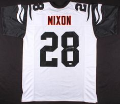 f4ccaec2e Joe Mixon Signed Cincinnati Bengals Color Rush Jersey (JSA) – Miller  Memorabilia