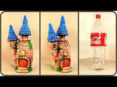 ❣DIY Two Fairy House Lamps Using a Plastic Bottle❣ - YouTube