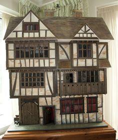 tudor dollhouse- absolutely gorgeous!