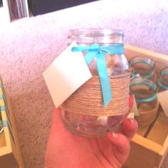 Write your name so you can tell which jar is yours!