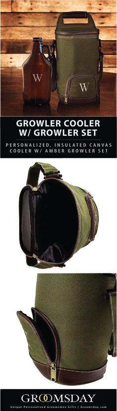 Insulated Growler Cooler w  Amber Growler cc5faed73760c