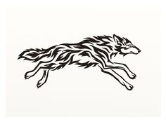 running wolves tattoo - Buscar con Google