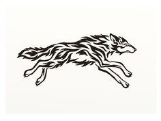 running wolves tattoo - Buscar con Google