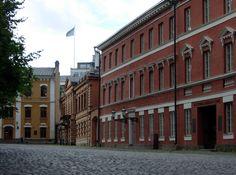 Vanha Suurtori, Turku, Katedralskolan.