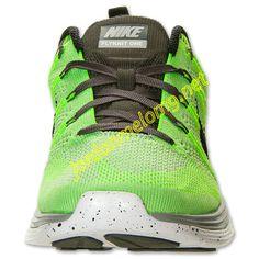 Electric Green 554887 300 Nike Flyknit Lunar 1 Mens Black Wolf Grey Midnight