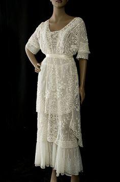 Nouveau la vôtre Plus Taille 14-36 Vert Foncé Blanc Floral Printed Wrap Midi Tea Dress