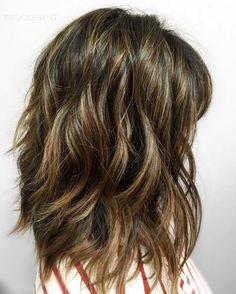 80 Sensational Medium Length Haircuts for Thick Hair | Pinterest ...