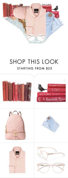 """""""Back to school"""" by vincapervinca ❤ liked on Polyvore featuring MICHAEL Michael Kors, Chester Barrie, Derek Lam, school and fashionset"""