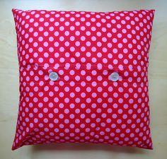 Dinki Dots Craft: Funky Cushion - back